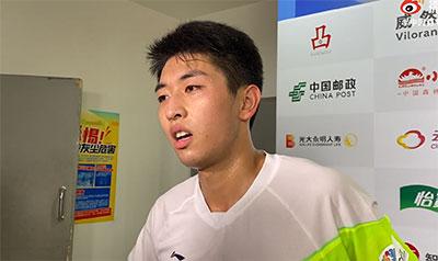 林贵埔:因伤病没系统训练 今天想尽力冲一冲