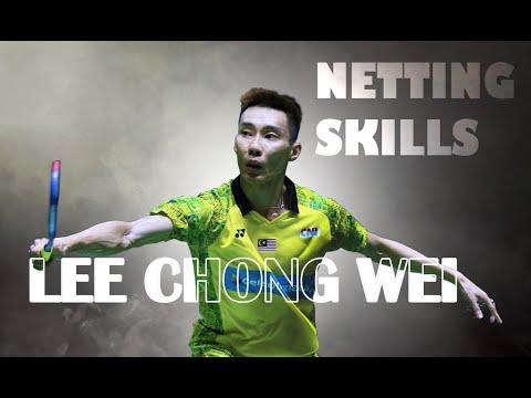 论网前球天赋,二大爷李宗伟这手感也是神了