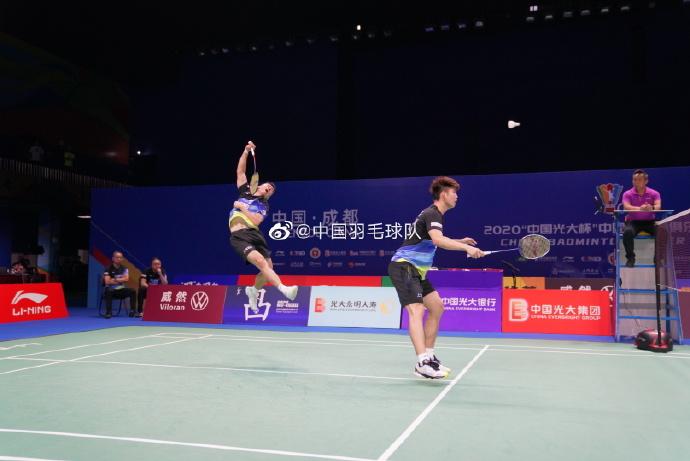 郑思维/刘雨辰这男双打国际比赛怎样?