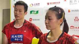 黄雅琼谈输球:速度没有对手快
