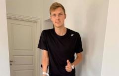 安赛龙右脚踝接受手术 退出丹麦公开赛