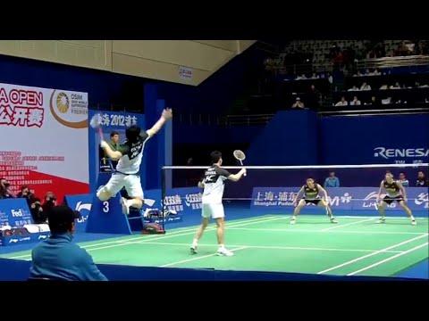 低视角学习男双球路!蔡赟傅海峰vs陈炳顺林钦华
