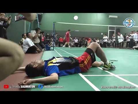 小黄人组合陪印尼体育部长打球,这领导水平也太高了吧?