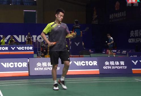 周泽奇VS郭新娃 2020全国锦标赛 男单1/16决赛视频