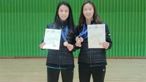 张艺娜/郑景银VS李绍希/申昇瓒 2020韩国夏季羽毛球锦标赛 女双决赛视频