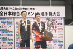 全日本综合锦标赛抽签出炉 桃田贤斗志在3连冠