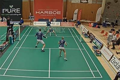 科丁/皮克vs米克尔森/汉森 2020年丹麦羽毛球联赛