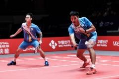 前台北世界排名第十男双拆对,卢敬尧杨博涵加入新球队