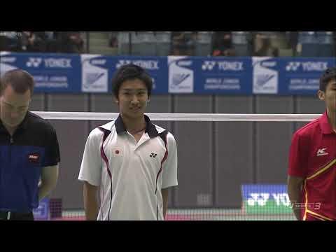 18岁桃田决胜局17-19逆转薛松夺冠!从此开启称霸之路
