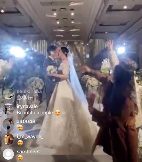 成池铉终于娶回家,孙完虎婚礼现场竖起大拇指!
