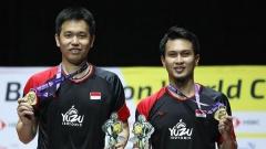 亨德拉/阿山被评为印尼年度最佳运动员!