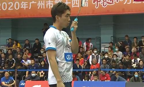 业余界顶尖高手过招!2020广州市长杯青年组男单决赛