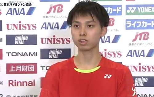 奈良冈功大VS武井凜生 2020全日本综合锦标赛 男单1/16决赛视频