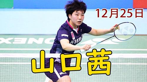 山口茜vs水井敏捷精彩集锦 2020全日本锦标赛半决赛