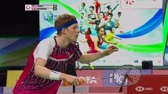 安东森0-2不敌刘国伦一轮游 亨山组合晋级丨泰国赛第2日