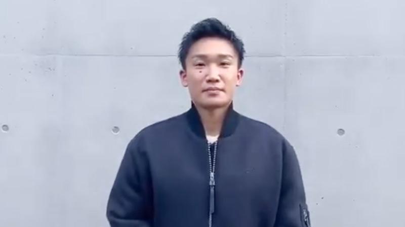 桃田贤斗结束隔离开始恢复训练