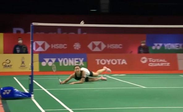 泰国1/8决赛TOP5 李文珊倒地极限救球今日最佳