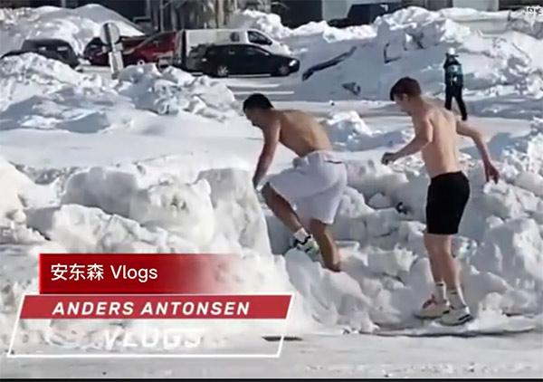 丹麦队欧洲混合团体赛VLOG 这群维京男孩太搞笑了