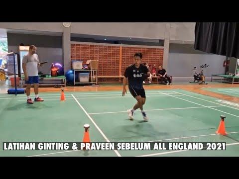 印尼队备战全英赛日常训练 乔丹这跑步速度如何?