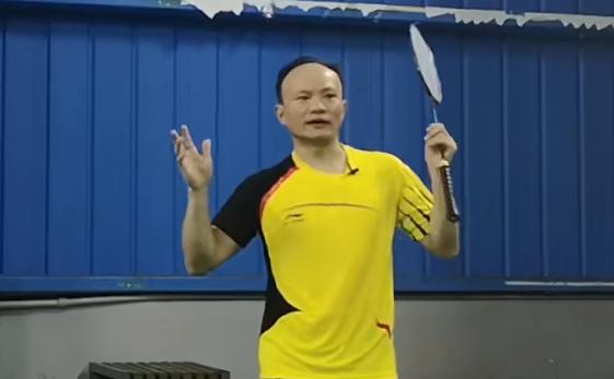 羽新知:菜鸟学反手要充分发力!高手才能简化动作
