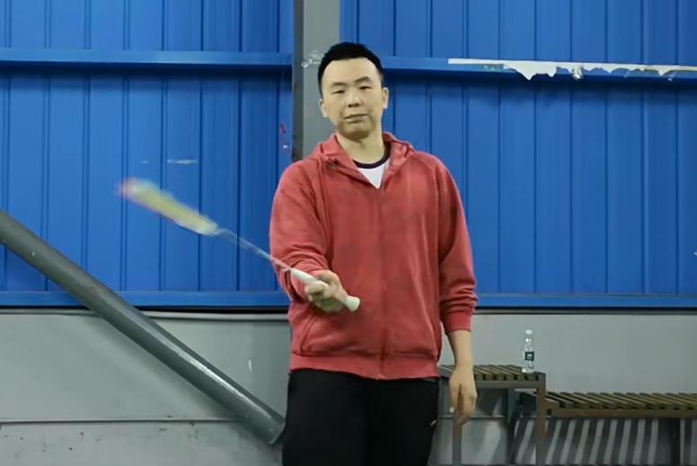 羽新知羽毛球教学第五十期(赛前热身)