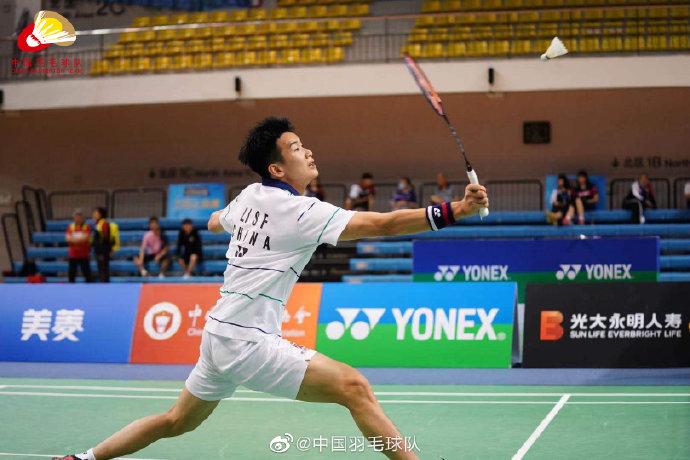 陆光祖VS李诗沣 2021年国羽队内对抗赛男单半决赛视频