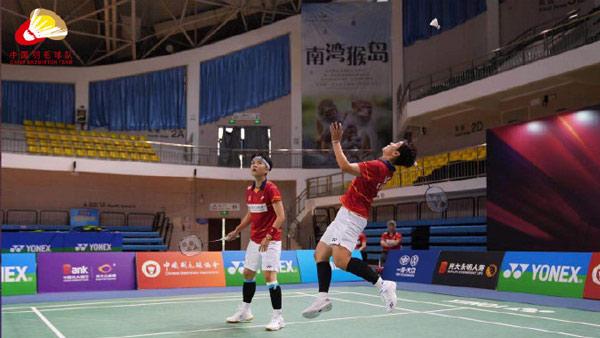 杜玥/李茵晖VS郑雨/李汶妹 2021国羽队内对抗赛 女双决赛视频