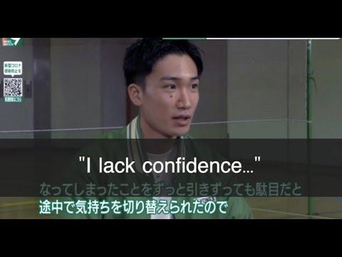 桃田贤斗:我也会缺乏自信,一切只能从头开始