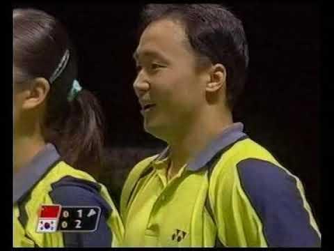 经典之战!2003年世锦赛决赛张军/高崚vs金东文/罗景民