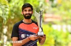 """4年0冠入账,斯里坎特仍荣获印度""""十年最佳运动员"""""""