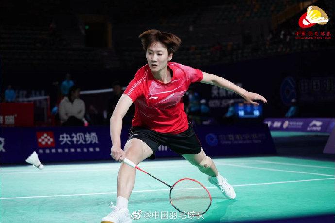 陈雨菲VS张艺曼 2021全运会羽毛球 女团资格赛视频
