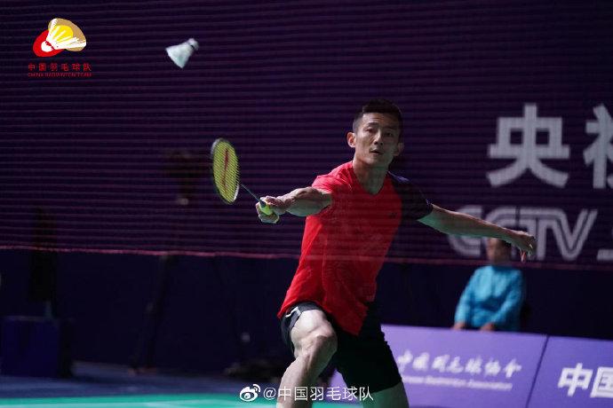 谌龙VS潘印涵 2021全运会羽毛球 男团资格赛视频