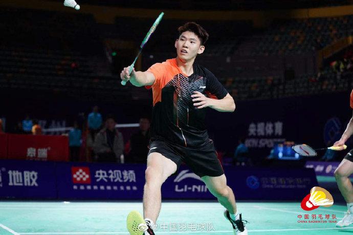 刘雨辰/姚智迪VS高振清/洪铸文 2021全运会羽毛球 资格赛视频
