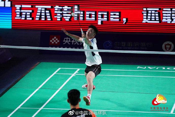 郭新娃VS冯彦哲 2021全运会羽毛球 男团资格赛视频