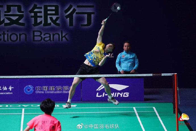 石宇奇VS赵培燚 2021全运会羽毛球 男团资格赛视频