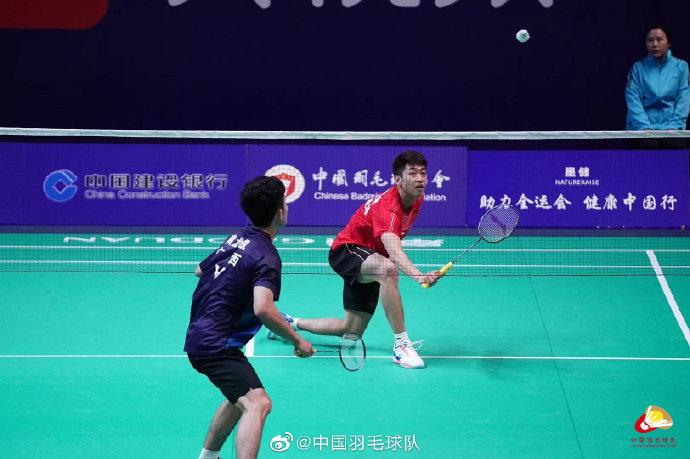 林贵埔VS 黄龙凯 2021全运会羽毛球 男团资格赛视频