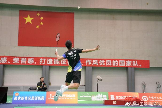 赵俊鹏VS刘亮 2021全运会羽毛球 男团资格赛视频