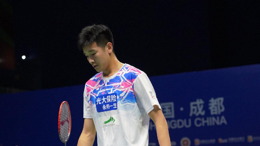 李诗沣VS周泽奇 2021全运会羽毛球 男团资格赛视频