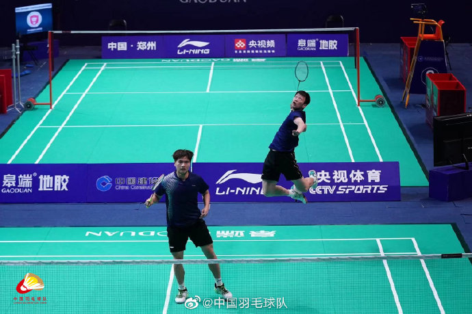 梁伟铿/任翔宇VS章思杰/蔡瑞卿 2021全运会羽毛球 男团1/4决赛视频