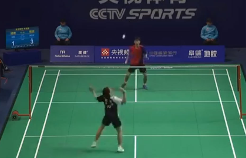 刘亮VS吴凯安 2021全运会羽毛球 男团半决赛视频
