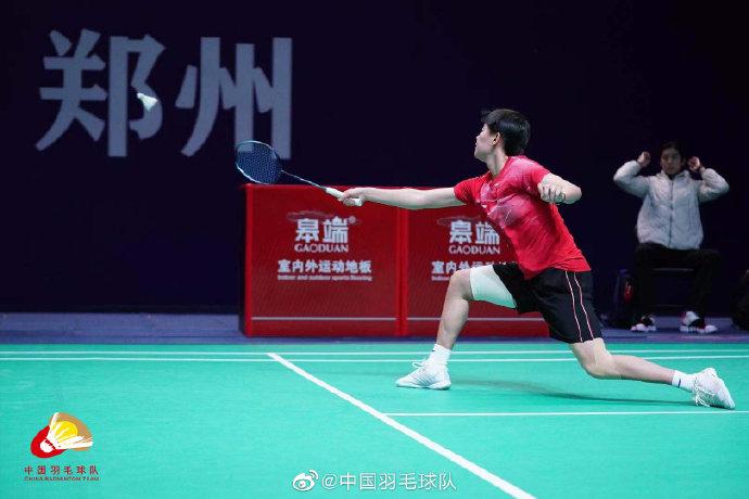 韩千禧VS陈柳柯 2021全运会羽毛球 女团季军赛视频