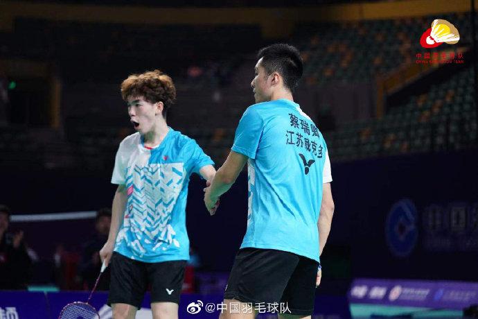 孙文骏/蔡瑞卿VS刘适文/黄嘉威 2021全运会羽毛球 男团季军赛视频