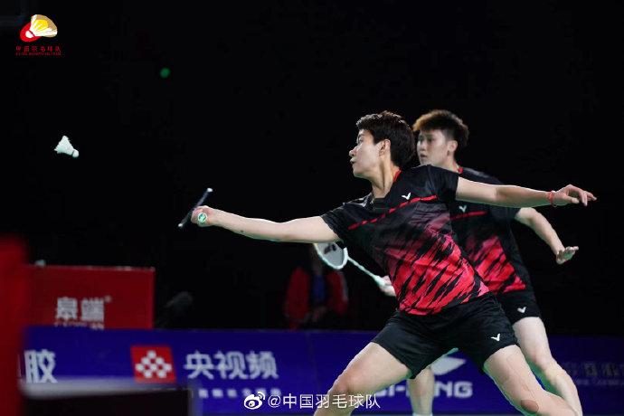 杜玥/李汶妹VS严晨雪/陈颖颖 2021全运会羽毛球 女团决赛视频