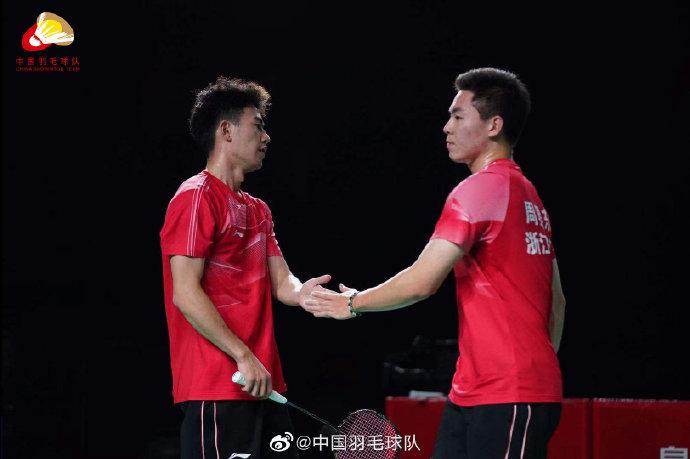 王昶/周昊东VS黄凯祥/欧烜屹 2021全运会羽毛球 男团决赛视频
