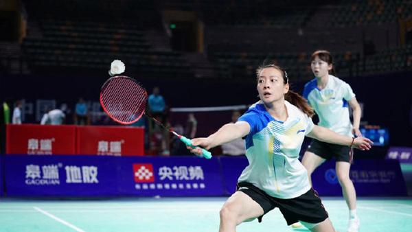 黄雅琼/吴梦莹VS沈诗瑶/张诗娴 2021全运会羽毛球 女双资格赛视频