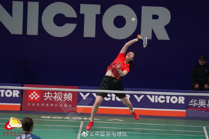 高昉洁VS罗钰婷 2021全运会羽毛球 女单资格赛视频