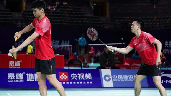 郑思维/王懿律VS张稳/柴飚 2021全运会羽毛球 男双1/16决赛视频