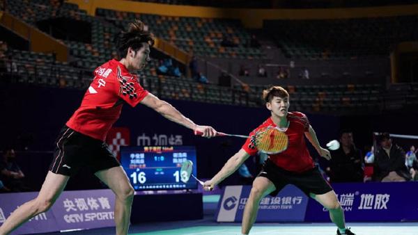 李俊慧/刘雨辰VS谢浩南/陈旭君 2021全运会羽毛球 男双1/8决赛视频