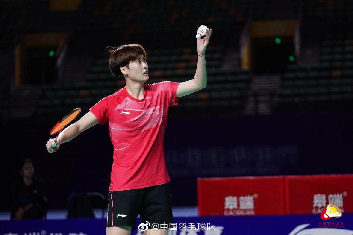 陈雨菲VS张艺曼 2021全运会羽毛球 女单1/4决赛视频