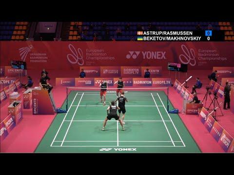 安德斯/索伦森VSGlib Beket/Mykhaylo M 2021欧锦赛 男双1/8决赛视频